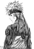 Naruto - pen by NightlyDusk
