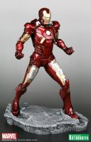 The Avengers 2012 Iron Man Mk VII Armored Suit (2) by Scarlighter