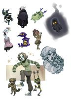 tiny monsters by Sally-Avernier