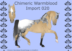 Chimeric Warmblood Import 020 OPEN by LiaLithiumTM