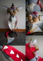 Red Gyarados Cosplay Progress by TerminaCosplay