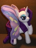 Rarity Butterfly :3 by Mantaro85