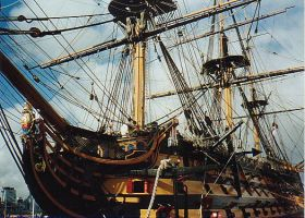 HMS Victory by MaterialGurl15