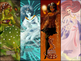 Four Elements by cartoon-girl-2010