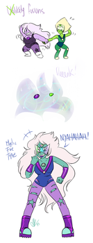 Unlikely Fusions - Mystic Fire Topaz by 2Mummu