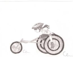 Para Olympic Cycling by Sci-rose