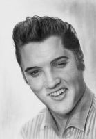 Elvis Presley by williamleafe