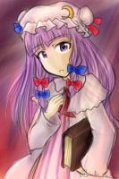 Patchouli Knowledge by BakaNekoChanSan