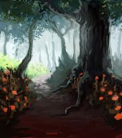 A fairly normal forest by Sormia