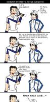 Echizen Ryoma vs. Novak Djokovic by fiori-party