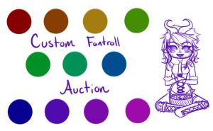 Custom Fantroll Auction [Closed!] by SuzumeKirei