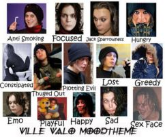The Many Faces Of Ville Valo by B-dayMassacre