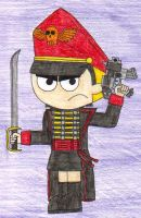 Commissar Mandy by trojanwolf