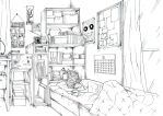 a very normal room by kirakira95