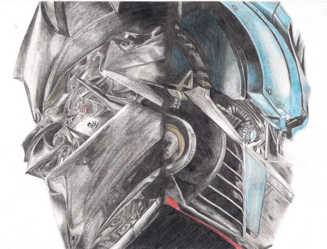 Transformers Wallpaper Drawing by NOSThrillZ