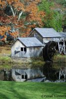 Mabry Mill by poetcrystaldawn