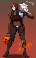 Happy Hallerween by VanHeist