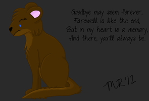 Goodbye May Seem Forever by MidnightRushing