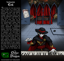 Order of the Dragon 06-The Phantom: Erik by Gummibearboy