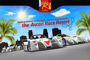 Radical on Ascari Race Resort by grafmax
