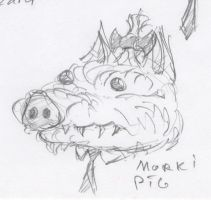 Animal Office - Morki Pig by HJTHX1138