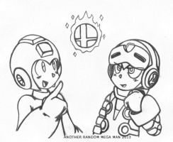 Mega Man and Beck - You Know You Want It by AnotherRandomMegaMan