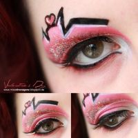 Be my Valentine - Makeup by MissVonXtravaganz