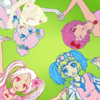Jewelpet Main Cast by hadenamomo