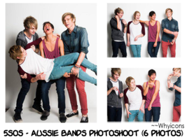 5SOS Photopack #1 ~Whyicons by Whyicons