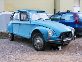 1983 Citroen Dyane 6 by GladiatorRomanus