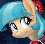 Square Series - Coco Pommel by sophiecabra
