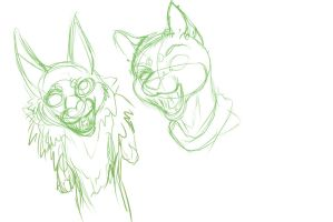Heads Sketches by forgetSanity