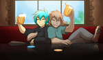 Bar Buddies by Twokinds