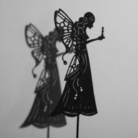 Night Butterfly-Shadow Puppet by PaperTales