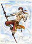 ATLA --Parallel-- grown-up Aang by Lucithea