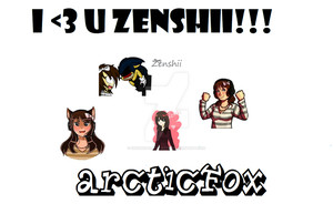 For Zenshii and the lovers c: by SnowieTehArticFox