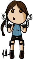 Tomb Raider Anniversary - Lara Croft by shrimp-pops