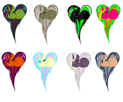 Heart pony adopts~ by star4567980