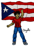 Boricua by fighterxaos