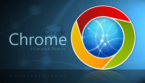 new chrome - dock icon by mustafahaydar