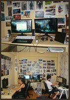 MY WORK SPACE by k04sk