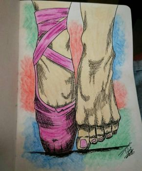 Ballet feet  by tusss