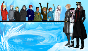 Milizia Winter Event: Air Force by toychild