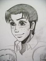 Quickie Marco Sketch by Hoshino-Libra
