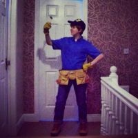 Fix-It Felix Jr. Cosplay by laurenpenman