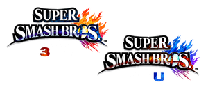 SSB4 logos with white text by DerpMP6