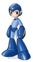 Mega Man by rongs1234