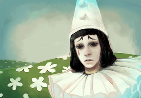 song of pierrot by Chaotic-Muffin