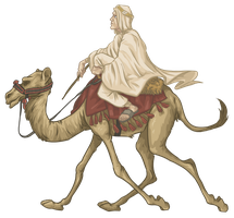 Lawrence of Arabia - Camel Run by ekzotik