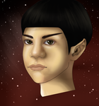 Young Spock (Practice) by Tree-Bag